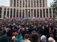 """При этом Песков отметил, что речь идет о """"тех или иных акциях в разных жанрах"""", которые происходят в столице"""