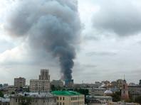 В Москве выгорело 4-этажное здание у Павелецкого вокзала: есть пострадавшие. Не исключен поджог (ФОТО, ВИДЕО)