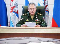 """Шойгу заявил об усилении обороны на западных границах России из-за """"напряженной"""" обстановки"""
