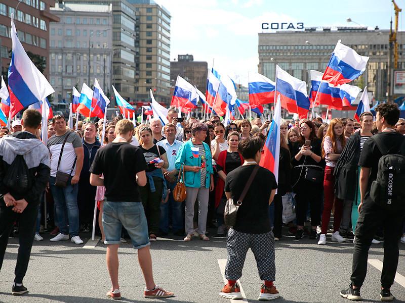 Москва, проспект Академика Сахарова, 24 августа 2019 года