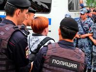 Московский полицейский рассказал в суде о существовании базы с именами участников протестных акций