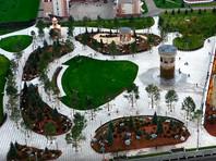 """На месте сгоревшего торгового центра """"Зимняя вишня"""" в Кемерово, где погибли 60 человек, открылся """"Сквер ангелов"""""""