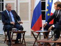 Впервые Путин прокомментировал протестные акции в Москве 19 августа на пресс-конференции с президентом Франции Эммануэлем Макроном во время визита в Париж