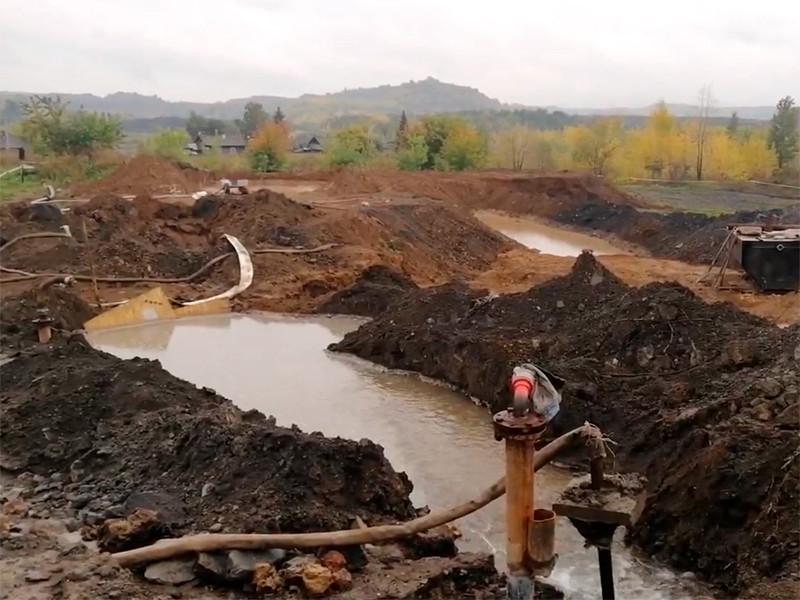 В страдающем от подземных пожаров Киселевске начала проваливаться земля
