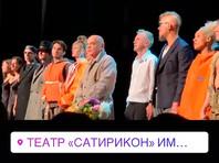 """В """"Сатириконе"""" в поддержку Устинова выступил Константин Райкин"""