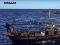"""""""Три шхуны и пять мотоботов с 262 северокорейскими рыбаками на борту. Они были задержаны за браконьерство в исключительных экономических водах России"""", - сказала сотрудник пресс-службы управления Альбина Проскуренко"""