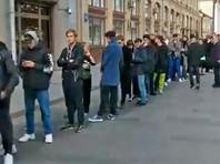 У здания администрации президента РФ в Москве образовалась огромная очередь на пикеты в поддержку Павла Устинова (ФОТО, ВИДЕО)