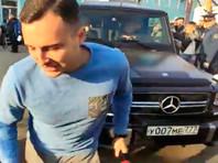 Отчим Александра Кокорина, встречая футболиста из колонии, проехался по ноге журналиста