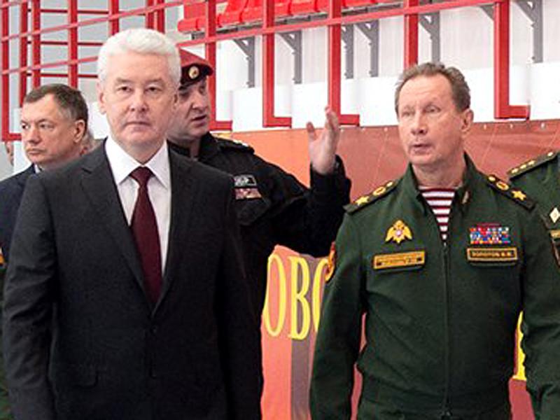 Сергей Собянин и Виктор Золотов