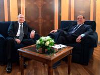 Давний друг Путина Берлускони опять прилетел к нему в Сочи на день рождения и заодно поговорил о политике