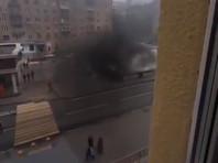 Алабяно-Балтийский тоннель в Москве и его окрестности заволокло дымом после инцидента с автобусом (ВИДЕО)