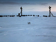 Зенитный ракетный полк ПВО Северного флота на архипелаге Новая Земля