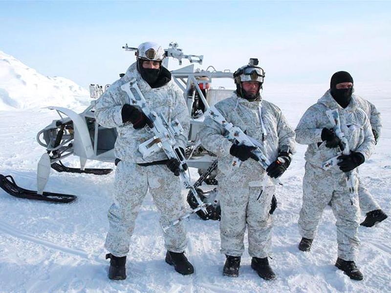 Учения Росгвардии в Арктике