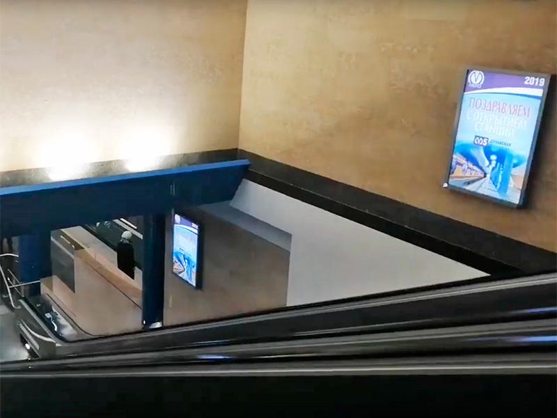 """В Петербурге новую станцию метро """"Дунайская"""" затопило через несколько часов после официального открытия, состоявшегося 3 октября"""