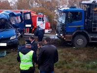 В четверг в Калужской области произошло ДТП с участием грузовика и микроавтобуса, погибло 4 человека, пострадало семеро