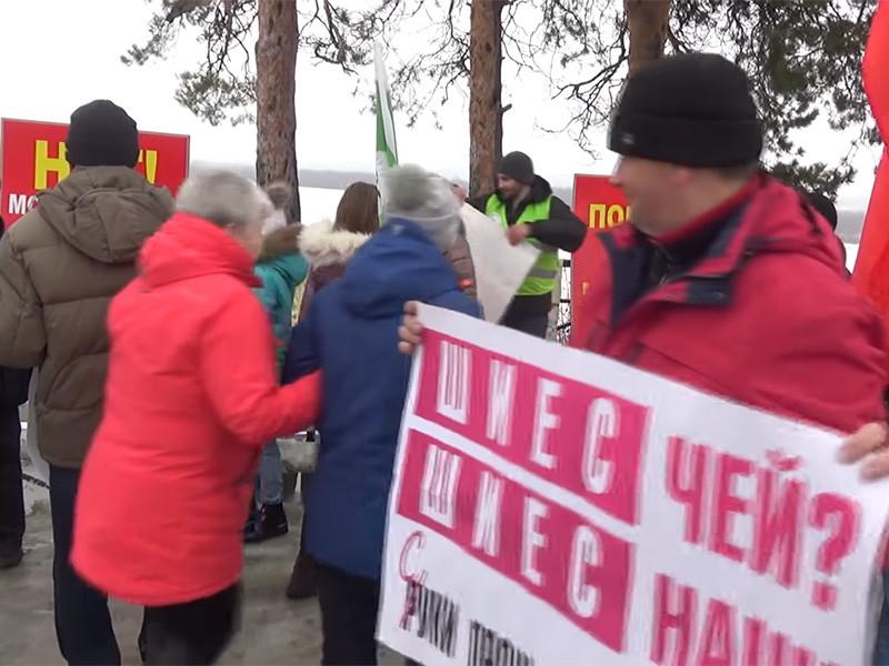 В минувшие выходные в городах Вельск и Котлас Архангельской области прошли митинги и пикеты против строительства мусорного полигона на станции Шиес