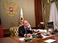 Путин обсудил с Зеленским по телефону отсутствие оборудования на возвращенных Украине кораблях и вопросы по газу