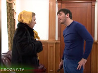 """24 октября телеканал """"Грозный"""" опубликовал видео, на которых Ислам Кадыров угрожает жителям Грозного расправой и применяет к женщине электрошокер"""