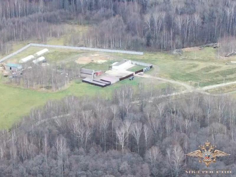 В Подмосковье на бывших фермерских землях обнаружили крупнейшую в России нарколабораторию