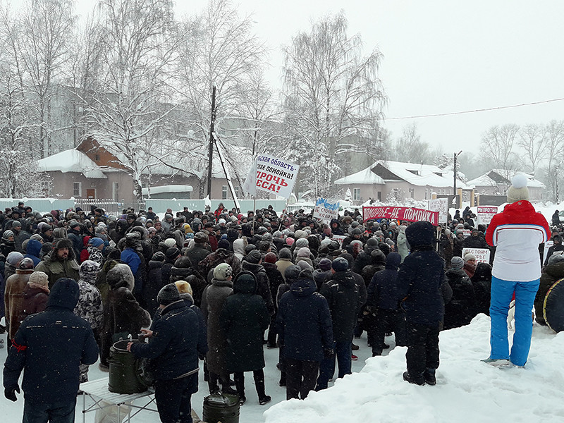 Согласно отчету центра за третий квартал, с июля по сентябрь первое место по количеству массовых мероприятий занял Шиес в Архангельской области, где протестуют против ввоза московского мусора