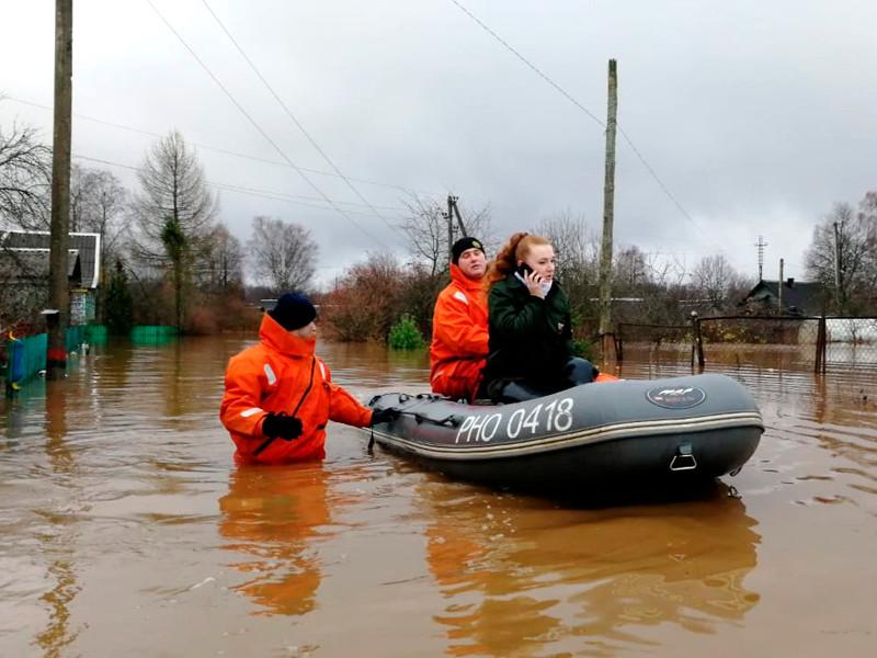 Наводнение в Новгородской области