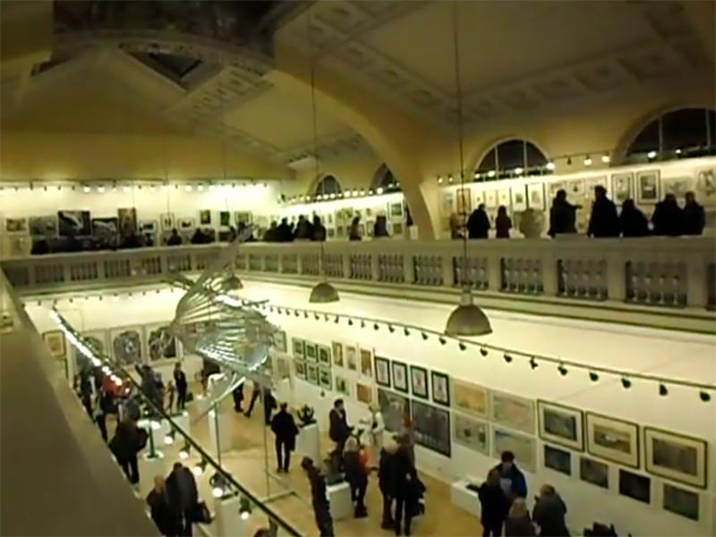 """Выставка """"Осень 2019"""" в выставочных залах Санкт-Петербургского Союза художников"""