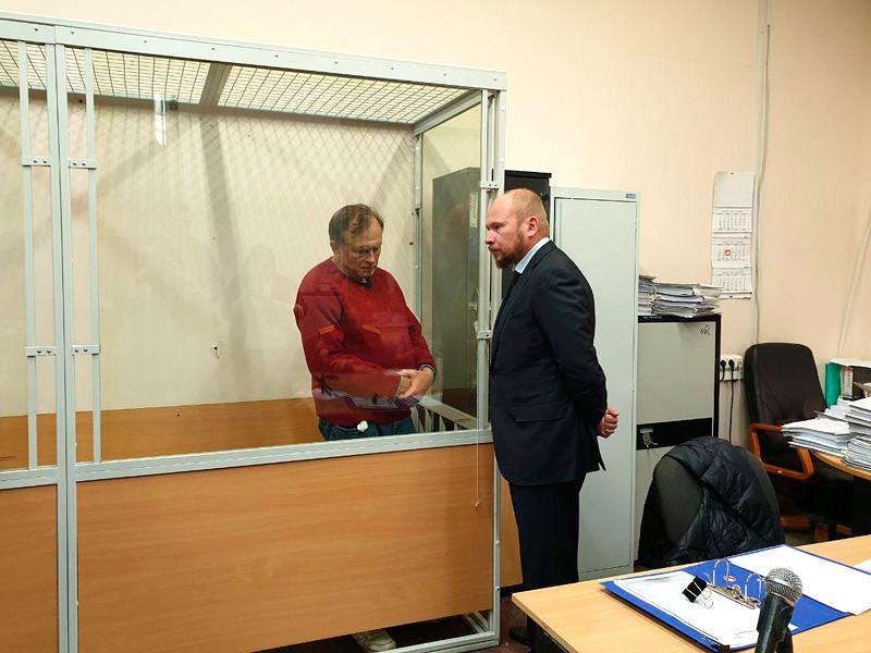 Олег Соколов в Октябрьском районном суде Санкт-Петербурга