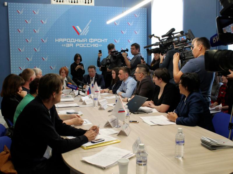 Общероссийский народный фронт (ОНФ) на пресс-конференции в Иркутске представил результаты мониторинга оказания помощи пострадавшим от паводка в Иркутской области