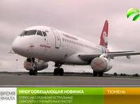 Снова птица попала: Superjet 100, у которого при взлете возникли проблемы с двигателем, приземлился в аэропорту Тюмени