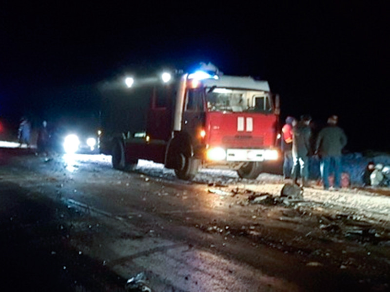 """ДТП произошло на 15 км автодороги """"Оренбург- Акбулак"""" возле села Чистое Оренбургского района"""