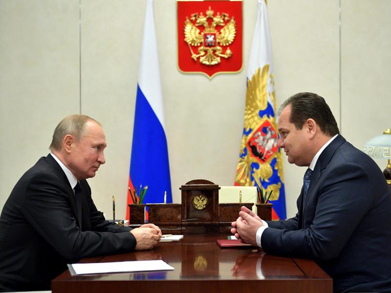 Путин назначил временно исполняющим обязанности главы региона сенатора Ростислава Гольдштейна