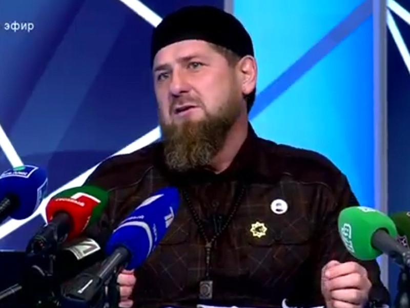 В Грозном прошла большая пресс-конференция Рамзана Кадырова
