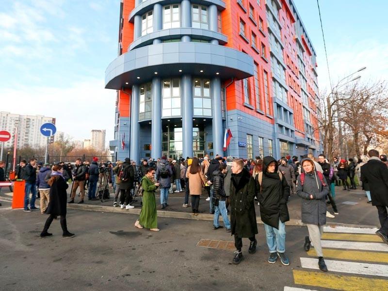Здание Тверского и Мещанского районных судов, ноябрь 2018 года