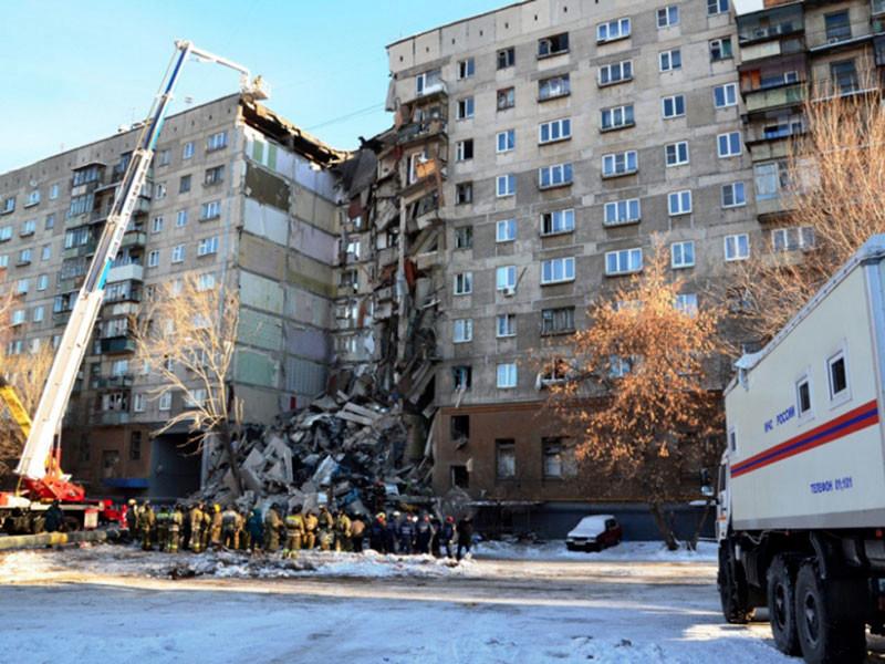 31 декабря исполнится год со дня взрыва и последующего обрушения многоквартирного дома на улице Карла Маркса, 164 в Магнитогорске