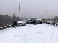 Транспортные средства получили механические повреждения. Ранены семь человек