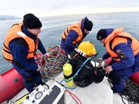 Поисковая операция в акватории Черного моря, декабрь 2016 года