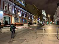 Улица Большая Лубянка у здания ФСБ, 19 декабря 2019 года