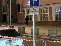 Обстановка на месте стрельбы на улице Большая Лубянка у здания ФСБ