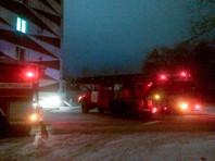 В Тюмени ночью произошел пожар в наркодиспансере, один пациент погиб