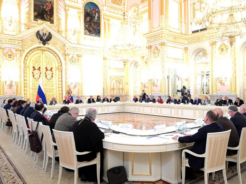 Заседание Совета по развитию гражданского общества и правам человека, 10 декабря 2019 года
