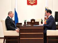 Владимир Путин и Айсен Николаев, август 2018 года