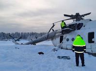Вертолет Ми-8 с нефтяниками на борту попал в снежный вихрь и опрокинулся на бок в Красноярском крае (ФОТО, ВИДЕО)