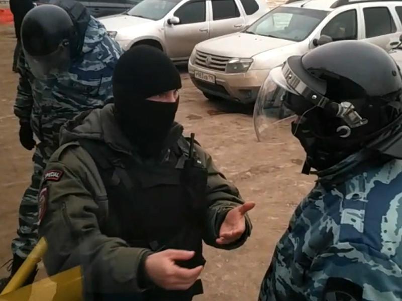 Под Казанью разогнали палаточный лагерь противников мусоросжигательного завода