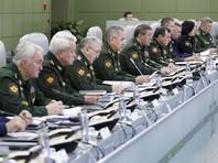 Селекторное совещание с руководством Вооруженных Сил в Национальном центре управления обороной Российской Федерации