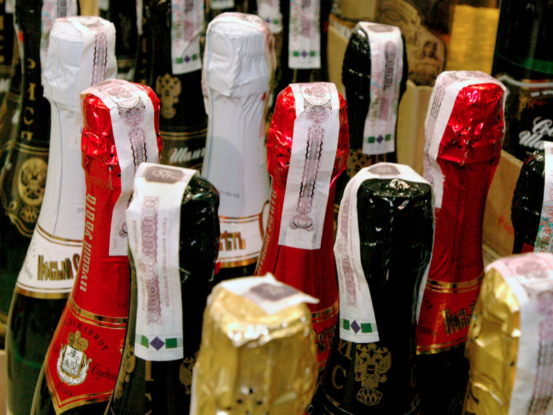 Производство шампанского в России может резко сократиться из-за закона о виноделии