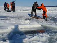 Вопреки здравому смыслу и предупреждениям спасателей, которые были доведены через SMS-сообщения и средства массовой информации, о том, что выход на лед крайне опасен, несколько сотен человек решили испытать судьбу и вышли в залив Мордвинова