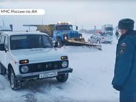 Режим чрезвычайной ситуации введен в трех районах Алтайского края в связи с метелью (ВИДЕО)