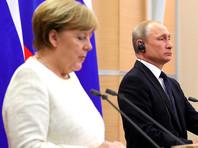 Канцлер Германии Ангела Меркель посетит Россию по приглашению президента РФ 11 января