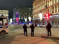 Обстановка на месте стрельбы на улице Большая Лубянка у здания ФСБ, декабрь 2019 года