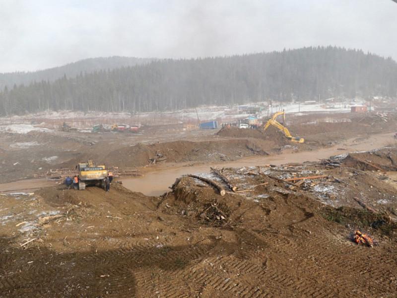 В Красноярском крае прекращены поиски золотоискателей, пропавших после прорыва дамб